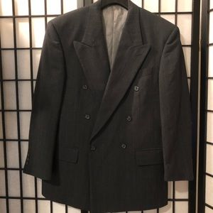 Givenchy Monsieur Double-Breasted Blazer